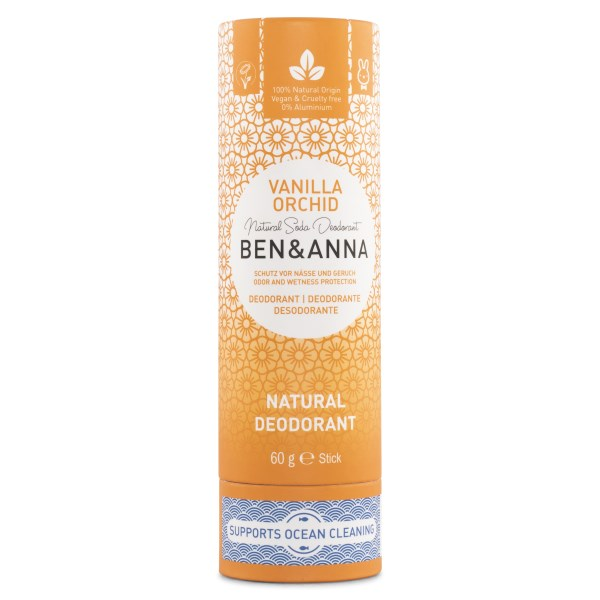 Ben & Anna Deodorant Stick 60 g Vanilla Orchid