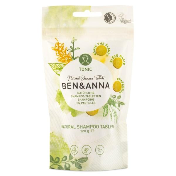 Ben & Anna Shampoo Tablets 120 g Tonic