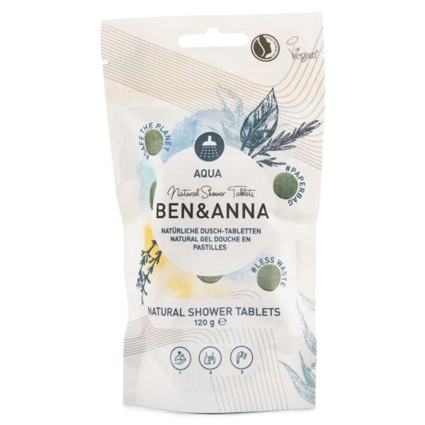 Ben & Anna Shower Tablets 120 g Aqua