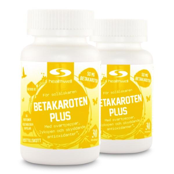 Betakaroten Plus - utgående formula  60 kaps