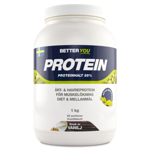 Better You Ärt & Havreprotein Äppel/Kanel 1 kg