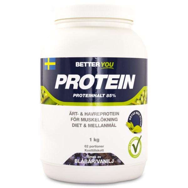 Better You Ärt & Havreprotein Blåbär/vanilj 1 kg