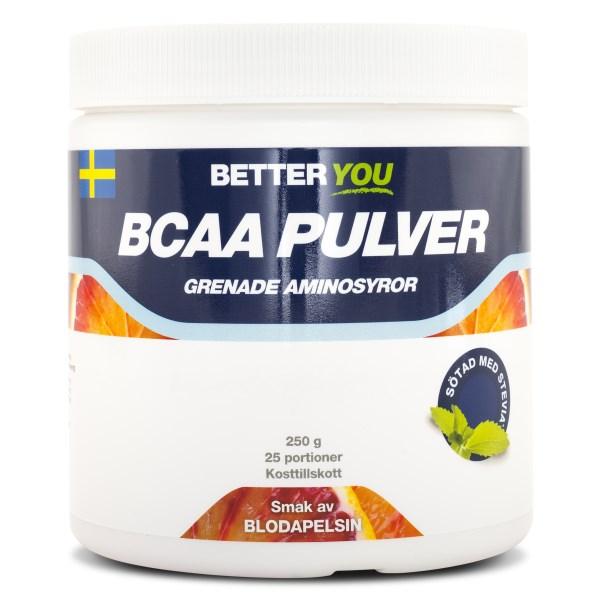 Better You BCAA Pulver Blodapelsin 250 g