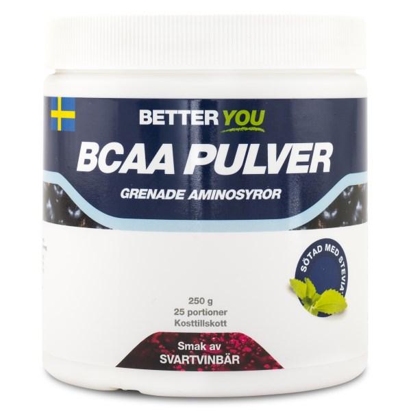 Better You BCAA Pulver Svartvinbär 250 g