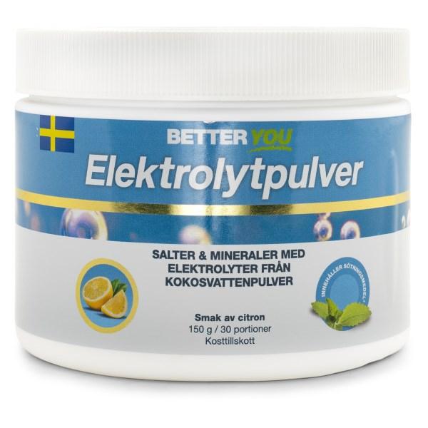 Better You Elektrolytpulver Citron 150 g