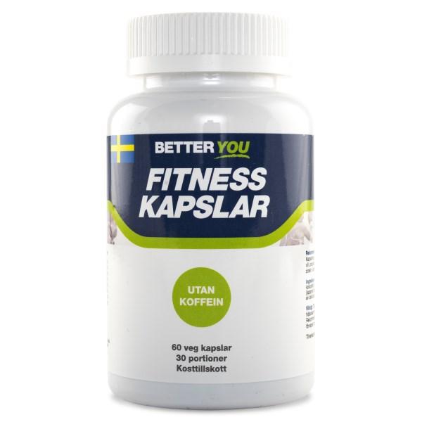 Better You Fitness Kapslar 60 kaps Utan koffein