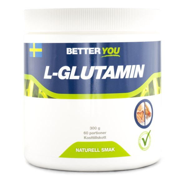 Better You L-Glutamin Naturell 300 g