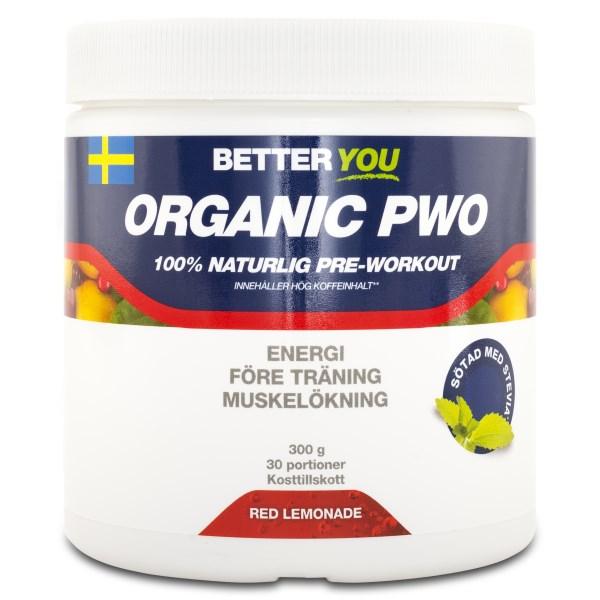 Better You Organic PWO Raspberry / Sour 300 g