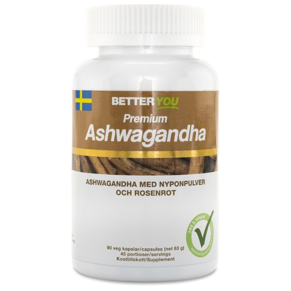 Better You Premium Ashwagandha 90 kaps