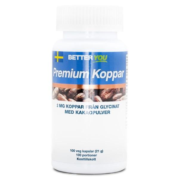 Better You Premium Koppar 100 kaps