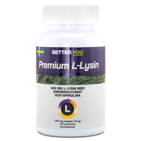 Better You Premium L-Lysin 100 kaps