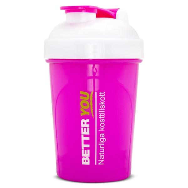 Better You Shaker 500 ml Rosa