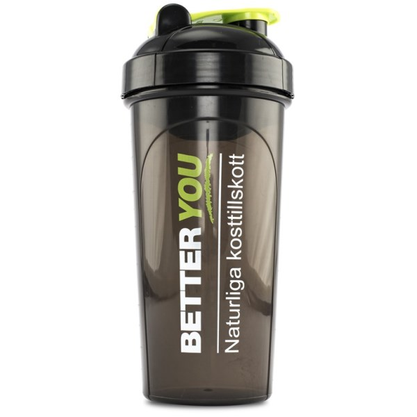 Better You EKO-Shaker 700 ml Svart