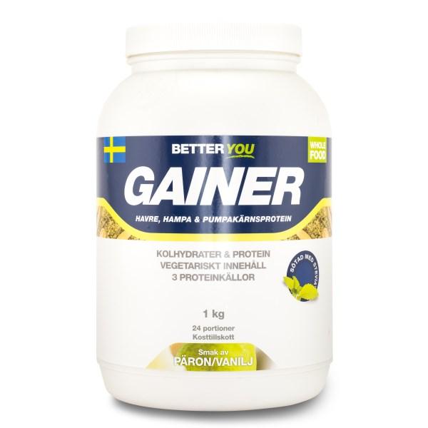 Better You Vegetarisk Gainer Vanilj/päron 1 kg