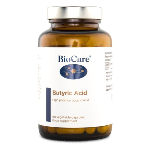 BioCare Butyric Acid 90 kaps