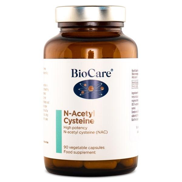 BioCare N-Acetyl Cysteine 90 kaps