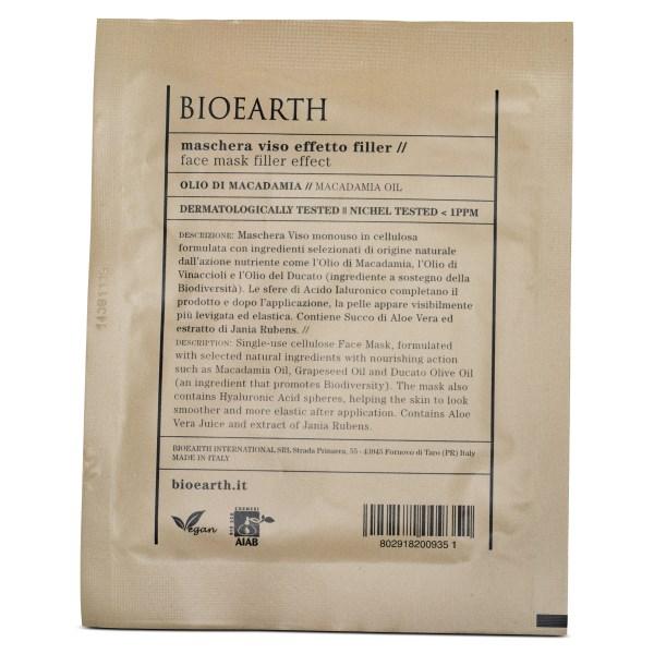 Bioearth Sheetmask Filler Effect 1 st