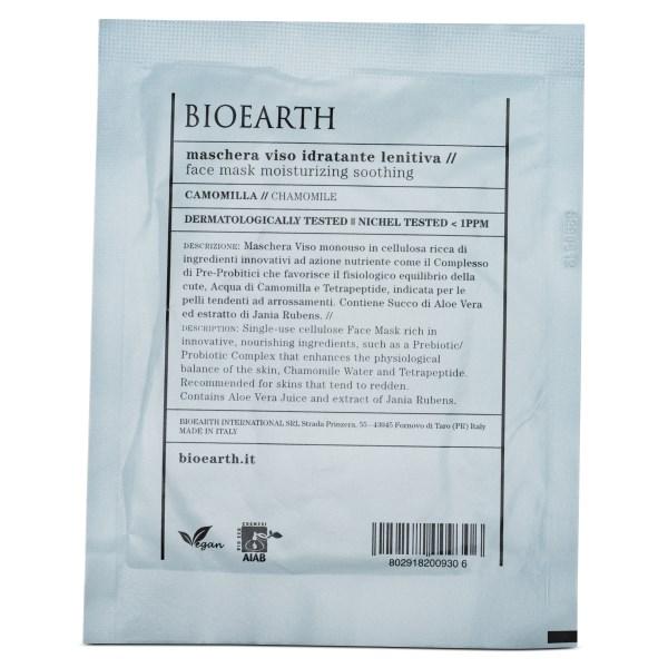 Bioearth Sheetmask Moisturising Soothing 1 st