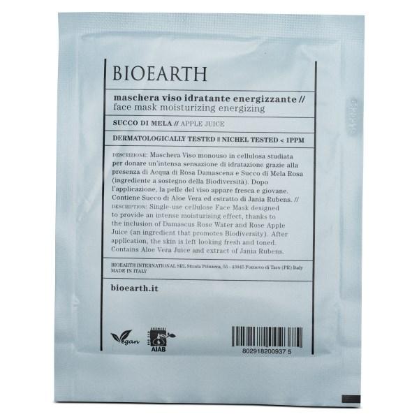 Bioearth Sheetmask Moisturizing Energizing 1 st