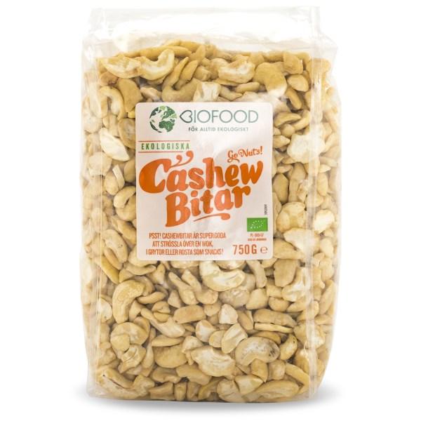Biofood Cashewbitar 750 g