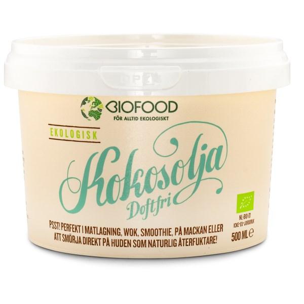 Biofood Doftfri Kokosolja 500 ml