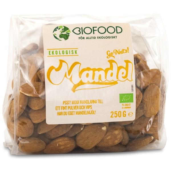 Biofood Mandlar EKO 250 g