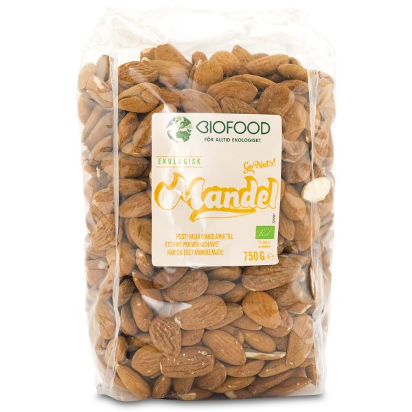Biofood Mandlar EKO 750 g
