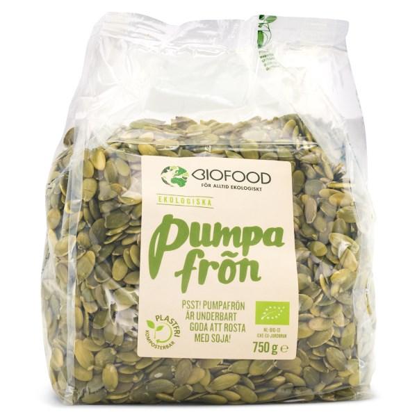 Biofood Pumpafrön EKO 750 g
