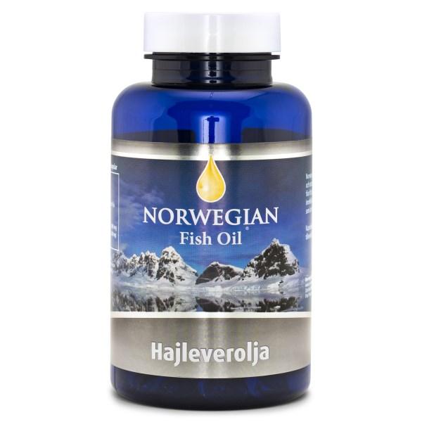 Biosan Hajleverolja NFO 120 kaps
