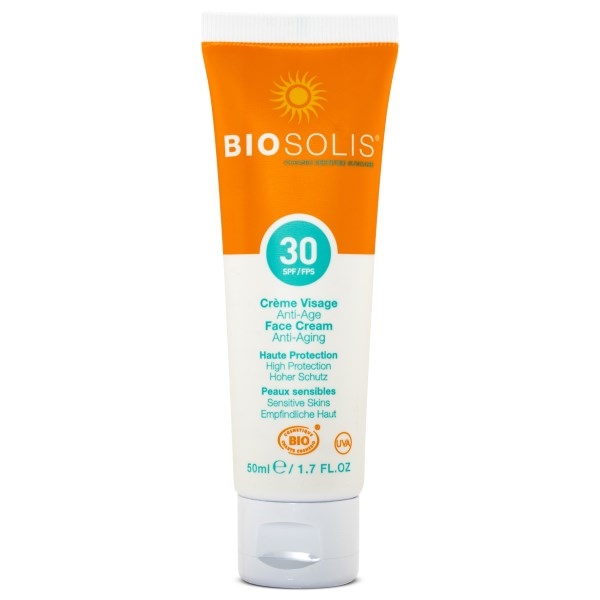 Biosolis Solkräm Ansikte SPF 30 50 ml