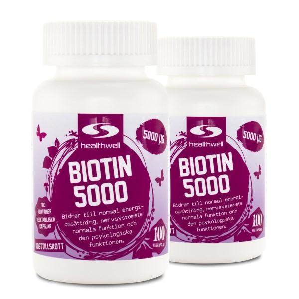 Biotin 5000 200 kaps