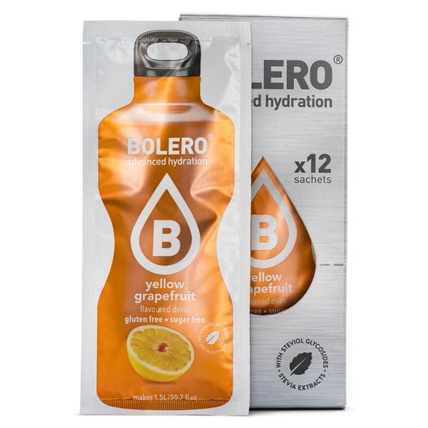 Bolero Classic Yellow Grapefruit 12-pack
