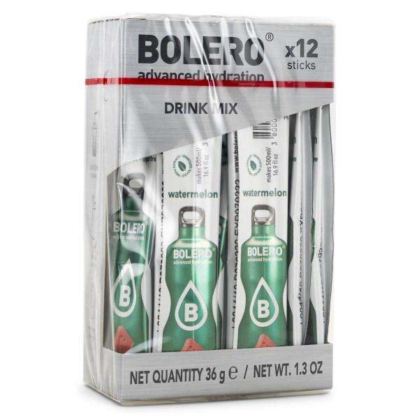 Bolero Sticks Watermelon 12-pack