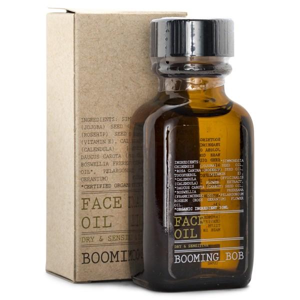 Booming Bob Face Oil EKO 30 ml Dry & Sensitive