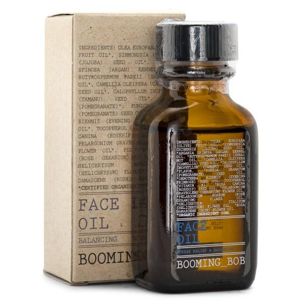 Booming Bob Face Oil EKO 30 ml Stress Relief & Balancing