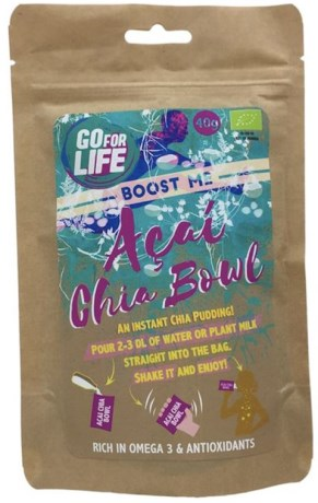 Go for Life Boost me Acai Chia Bowl