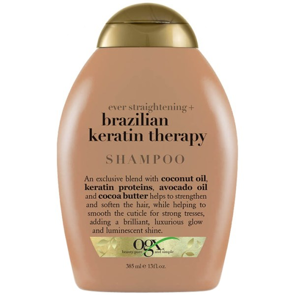 OGX Brazilian Keratin Smooth Shampoo 385 ml