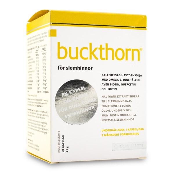 Buckthorn Kapslar Extra Starka 60 kaps