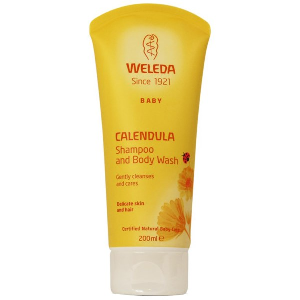 Weleda Calendula Shampoo And Body Wash 200ml