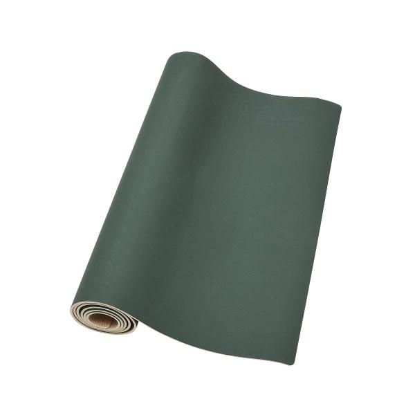 Casall ECO Yoga Mat Grip & Bamboo 4mm 1 st Green/Natural