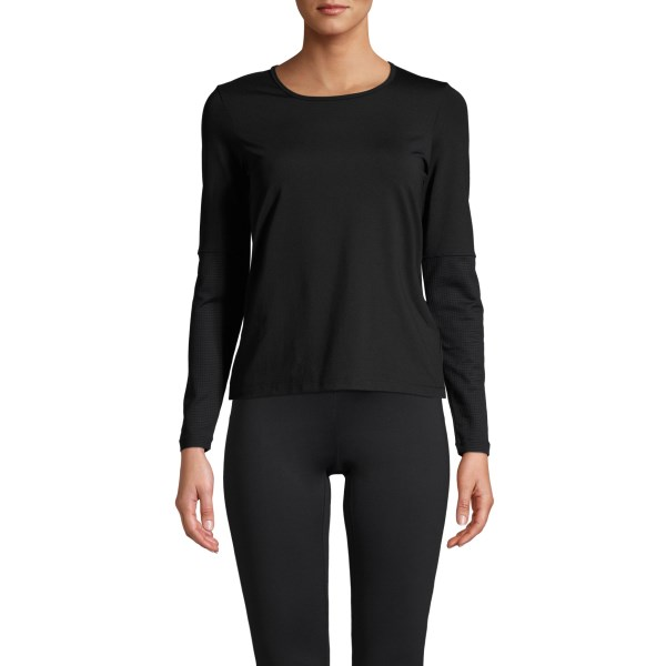 Casall Iconic Long Sleeve 40 Black