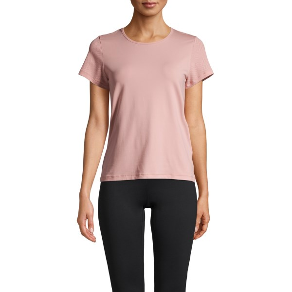 Casall Iconic Tee 38 Trust Pink