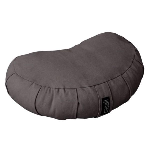 Casall Meditation Pillow Halfmoon Shape 1 st Warm Grey