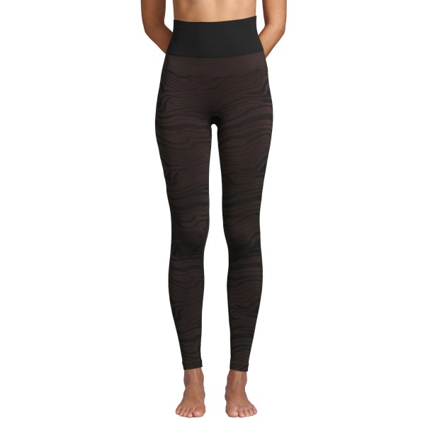 Casall Seamless Melted Tights S Melted Brown