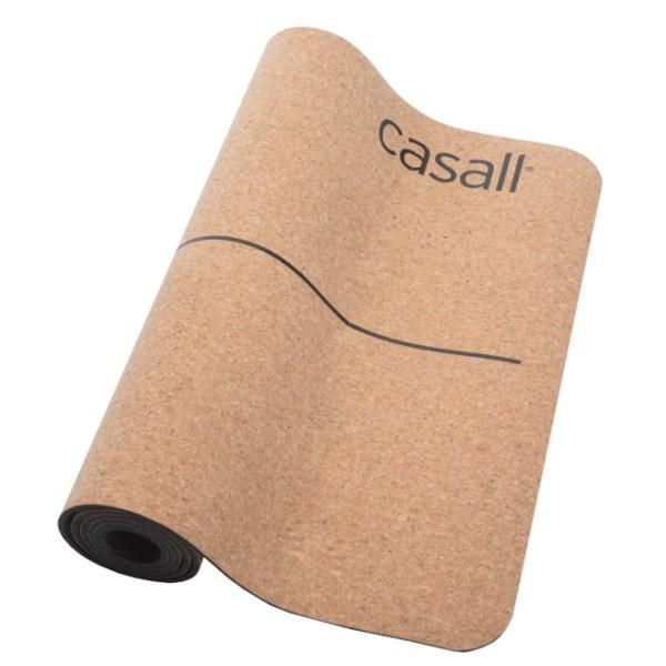 Casall Yoga Mat Natural Cork 5mm 1 st Natural Cork/Black