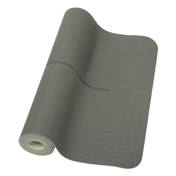 Casall Yoga Mat Position Calming Green