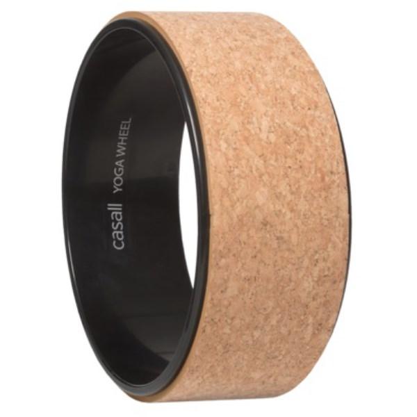 Casall Yoga Wheel Cork 1 st Natural Cork/Black
