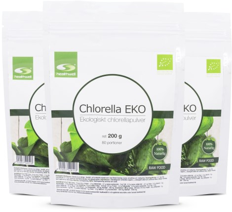 Chlorella EKO 3-pack