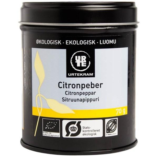 Urtekram Citronpeppar 70 g