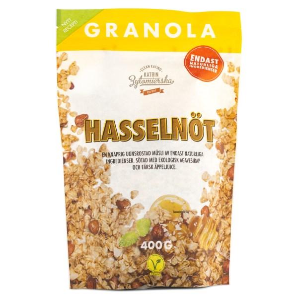 Clean Eating Granola 400 g Hasselnöt